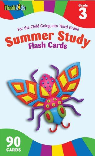 Summer Study Flash Cards Grade 3 (Flash Kids Summer Study)