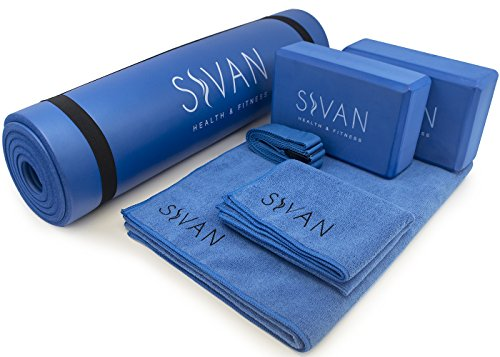 Sivan 6-Piece Yoga Set- Includes 1/2