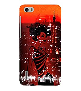 Eiffel Tower New York America 3D Hard Polycarbonate Designer Back Case Cover for Huawei Honor 6