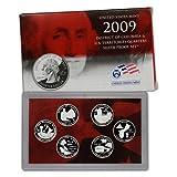 2009 S US Mint Quarters Silver Proof Set OGP