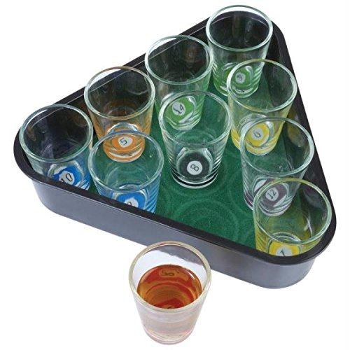 Maxam 11pc Pool Drinking Game Set - SPPOOL