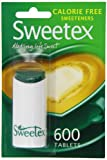 Sweetex Tablets Dispenser 600 Tablets (Pack of 4)