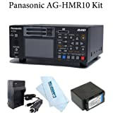 AG-HPD24PJ Solid-state P2 portable recorder with AVC-Intra recording + Travel Charger + CGA-D54 Lithium-Ion Battery Pack