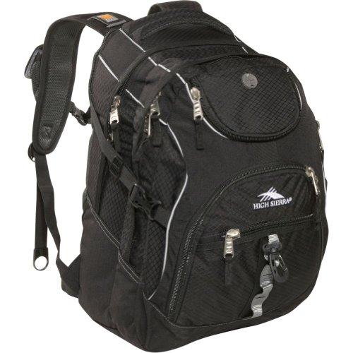 High Sierra Access Pack ,Black , 20X15X9.5-Inch front-1042405