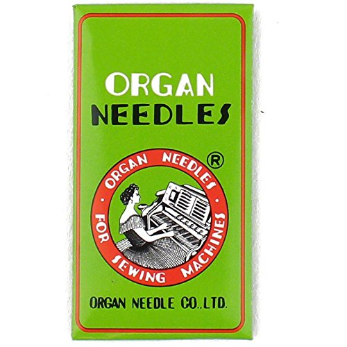 Organ HL X 5 Needles for Juki TL2000QI, TL2010Q, TL98 Series , Janome 1600P and Janome 1600P-QC Machines Size 65/9
