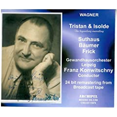 Wagner: Tristan und Isolde (The Legendary Recording) [UK-Import]