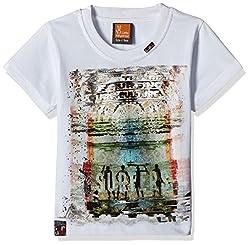 Little Kangaroos Baby Boys' T-Shirt (11053_White_2 year)