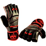 Weightlifting Gloves for Gym Fitness Bodybuilding - Workout Gloves for Men & Women - Dominator... by Crown Gear