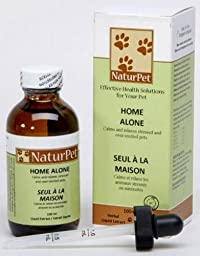 Naturpet - Home Alone - Nervine - 3.38oz - Natural Herbal Extract Blend - Pets