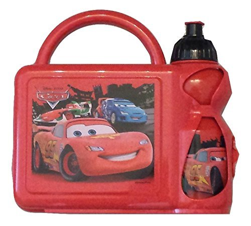 Lunch Box - Disney Cars - Combo with Water Bottle - 1