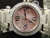 New Ladies Jojino Pink Genuine 12 Diamond Watch MJ-1050