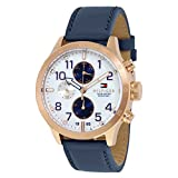 Tommy Hilfiger Men's 1791139 Cool Sport Analog Display Quartz Blue Watch