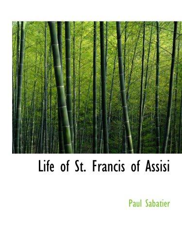 Vida de St. Francis de Assisi