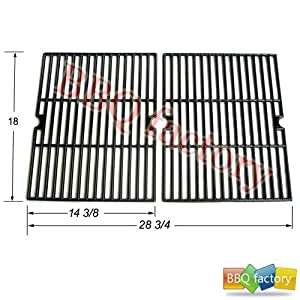 68502 Porcelain Cast Iron Cooking Grid Grate Replacement for Select Gas Grill Models by... by bbq factory