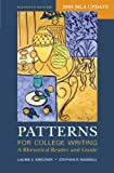 img - for Patterns for College Writing with 2009 MLA Update: A Rhetorical Reader and Guide book / textbook / text book