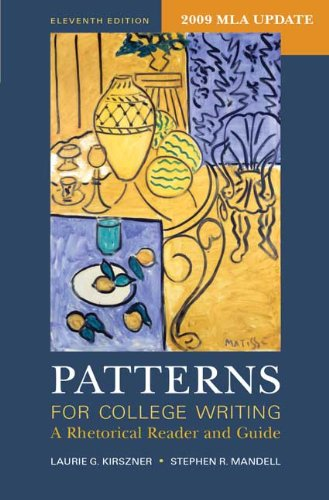 Patterns for College Writing with 2009 MLA Update: A...