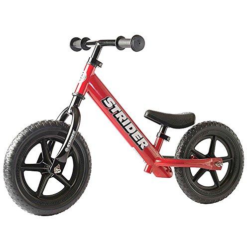Strider 12 Classic No-Pedal Balance Bike (Red)