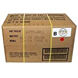 MRE 2020 Inspection Date Case, 12 Meals with 2020 Inspection Date, 2017 Pack Date. Military Surplus Meal Ready to Eat. (B-Case) (Color: B-Case)
