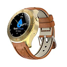 TECKING Android 5.1 OS Smart Watch Phones Gold
