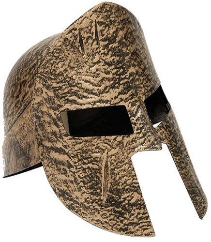Forum Novelties Greek Roman Spartan Warrior Knight Gold Costume Helmet