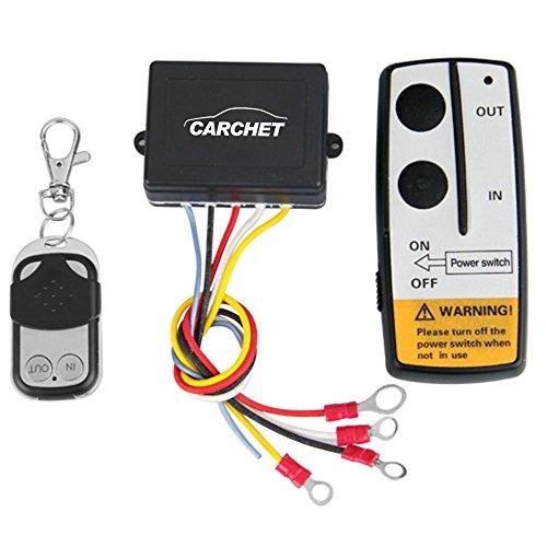 Discover Bargain 12V 12 Volt Wireless Remote Control Kit for Truck Jeep ATV Winch