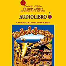 Simbad el marino: Un cuento de las mil y una noches (       UNABRIDGED) by Cuantica Activa Audiolibros Narrated by uncredited