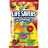 Life Savers 5 Flavors Gummies Candy Bag, 7 ounce (Tamaño: 7 Ounce)