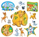 14 Stk. 3-D Sticker - Disney Bambi 10...