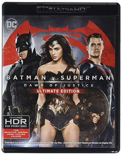 4K Blu-ray : Batman V Superman: Dawn Of Justice (4K Mastering, Ultimate Edition, 2 Pack, 2 Disc)