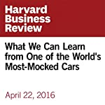 What We Can Learn from One of the World's Most-Mocked Cars | Gabor George Burt