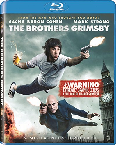 Blu-ray : The Brothers Grimsby (Ultraviolet Digital Copy, 3 Disc)