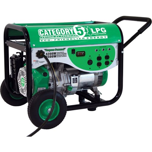 Champion Power Equipment 71108 4,200 Watt 4-Cycle Propane Powered Portable Generator (CARB Compliant) On Sale