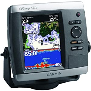 Garmin GPSMAP 541s 5-Inch Waterproof Marine GPS and Chartplotter with Sounder (Discontinued by Manufacturer) by Garmin