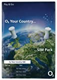 UK United Kingdom Mobile Cell PAYG International SIM Card o2 Network