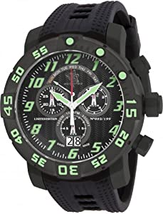 Invicta 17532 Men's Sea Base Titanium Black Polyurethane Watch