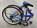 "Columba 26"" Folding Bike w. Shimano 18 Speed Blue (SP26S_Blue) from 2KSILVER"