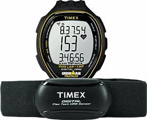 Timex Herren-Armbanduhr XL Target Trainer HRM mit TAP Digital Quarz Plastik T5K726