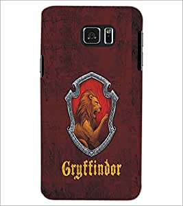 PRINTSWAG LION Designer Back Cover Case for SAMSUNG GALAXY NOTE 5