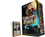 Derek Landy Skulduggery Pleasant 3 Books Collection with Game Cards (The Faceless ones, Playing with fire and Skulduggery Pleasant)