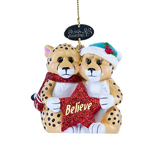 cheetah-mates-ornament