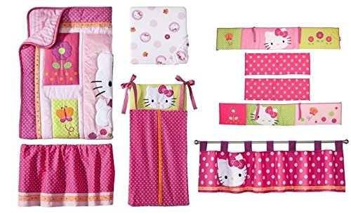 Hello Kitty Baby Bedding 1212 front