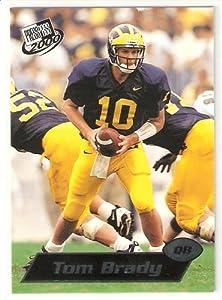 2000 Press Pass # 37 Tom Brady RC - Michigan Wolverines - New England Patriots -... by Press Pass
