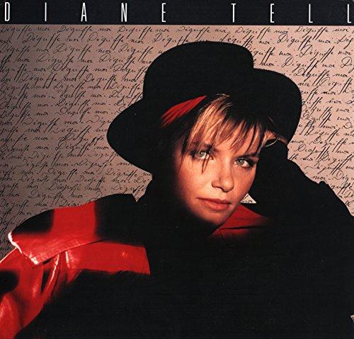 """Diane Tell - Dégriffe Moi ( Vinyle, album 33 tours 12"""" ) Pathé Marconi - EMI 7904211 , 1988 - Dégriffe-Moi - Les Yuppies - K'méléon - La Belle du Port - Je pense à Toi comme Je t'Aime - Party's - Y'a quelqu'un sous les roues - Suffit d'un rire - Apache - Ballade de K'méléon"""