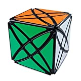 8 Axles Magic Speed Cube Puzzles, ABS Ultra-smooth Master Twist Cube, Brain Teaser Toys & Christmas Birthday Gifts by YKL WORLD (Black) (Color: Black-2)