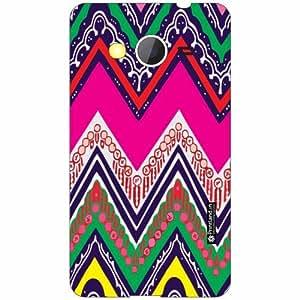 Samsung Galaxy Core 2 Back Cover - Silicon Vibrant Pattern Designer Cases