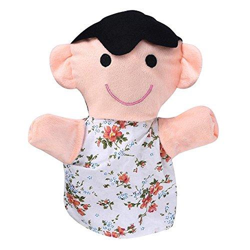 Finger Puppet,Elevin(TM) 25CM Baby Kids Home Family Finger Infant Kid Toy Plush Toys Christmas Gift