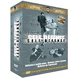 Coffret Self-Défense:<br> DVD 1 - Défense contre couteau<br> DVD 2 - Techniques en situations des Forces de l'ordre<br> DVD 3 - Boxe de rue