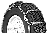 Search : Security Chain Company QG2228CAM Quik Grip Light Truck Type CAM LSH Tire Traction Chain - Set of 2
