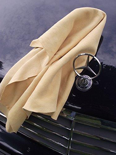 Pelle Di Daino per auto, Panno in pelle Originale - Misure speciali 55x85 cm