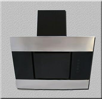 luxus dunstabzugshaube 90cm wandhaube kopffrei 90cm f bayer edelstahl mit schwarzglas. Black Bedroom Furniture Sets. Home Design Ideas